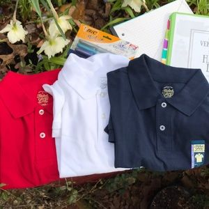 c7fc8abf Faded Glory Shirts & Tops - 3 NWT Faded Glory Boys Polo Shirts Husky XL 14